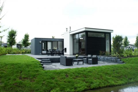 Stacaravan of chalet in noord holland - Rock bobois kustlijn ...