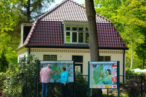 12-persoons Boswachterswoning
