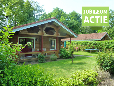 4-persoons JubileumSpecial Chalet
