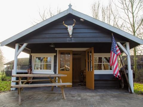 6-persoons stacaravan/chalet (max 2 volw.) Cowboy cottage