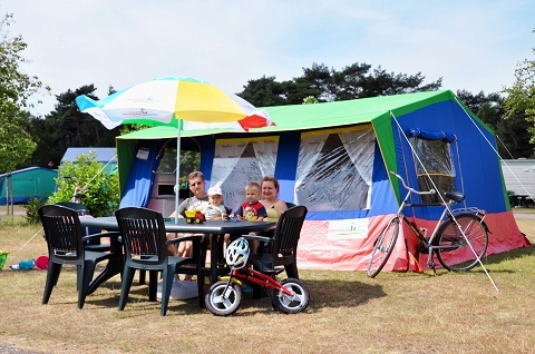5-persoons tent