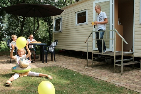 4 persoons mobile home