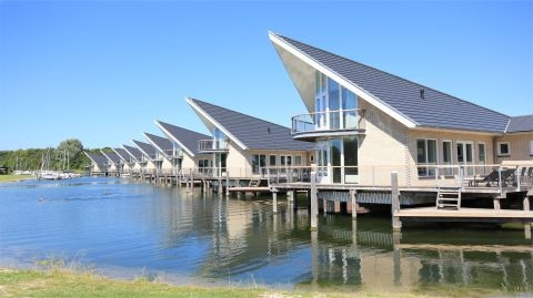 6-persoons watervilla type Pontille Luxe