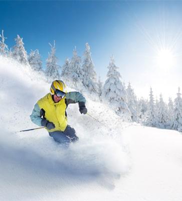 Wintersportgebieden Frankrijk