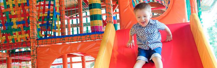 Vakantiepark met indoor speelparadijs