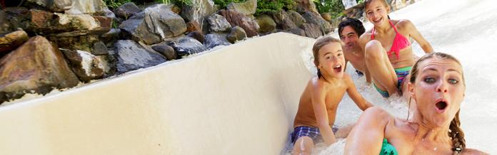 Vakantiepark met zwemparadijs