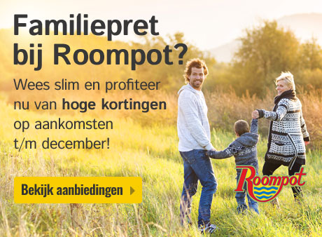Roompot knalt!