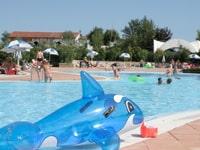 Bungalowpark met buitenzwembad
