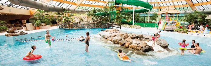 Bungalowparken met binnenzwembad hoge kortingen for Binnen zwembaden
