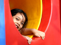 Parkfaciliteiten voor kinderen