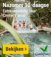 Center Parcs Nazomer 10-daagse