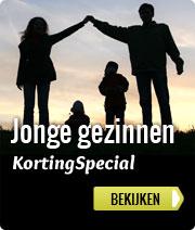 Jonge gezinnen korting