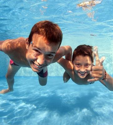 Bungalowparken met zwembad
