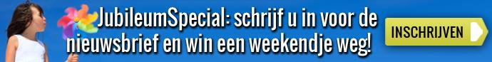 JubileumSpecial: win een weekendje weg