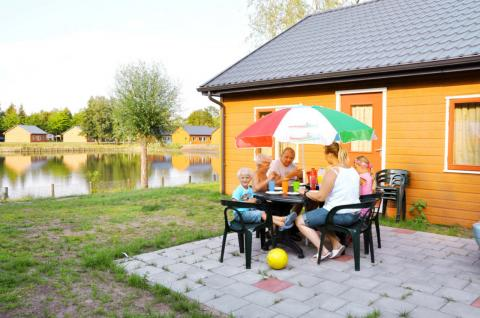 4-persoons stacaravan/chalet Holiday Cottage