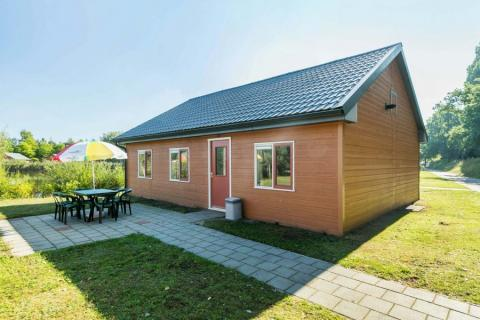 8-persoons stacaravan/chalet Holiday Cottage