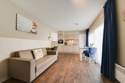 2-persoons appartement Studio Type 20 - Bedroom