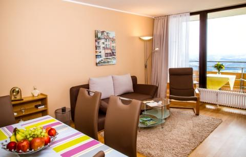 2-persoons appartement A Comfort (max. 3 Personen)