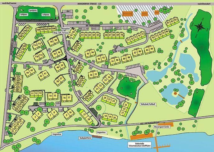 park plattegrond
