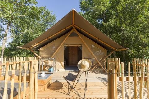 5-persoons tent Trappeur