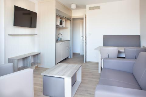 4-persoons appartement Studio