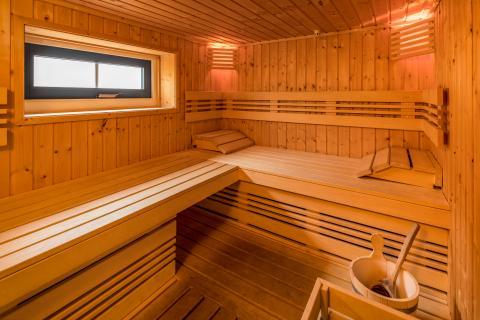 10-persoons groepsaccommodatie F Sauna