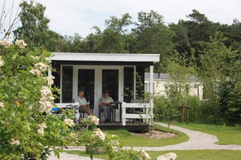 4-persoons stacaravan/chalet Buitenhuis