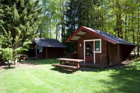 4-persoons bungalow Trekkershut