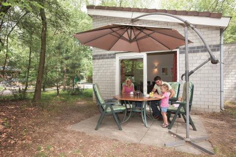4-persoons bungalow 2 + 2 (tot 12 jr.) 4BK