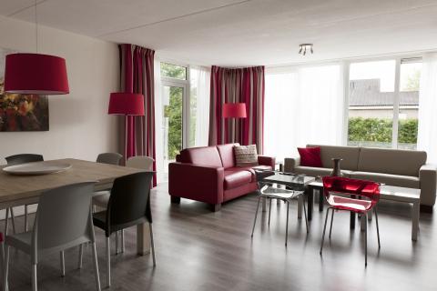 14-persoons bungalow Standaard 2 accommodaties geschakeld
