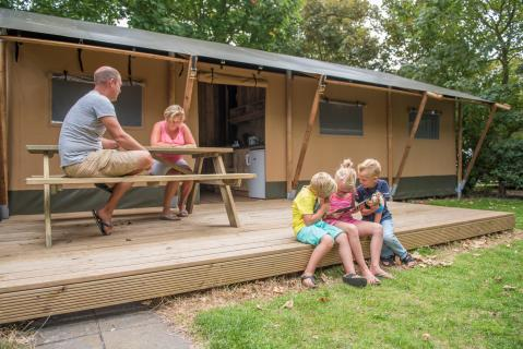 6-persoons tent Safaritent