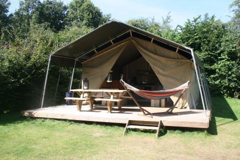 5-persoons tent Strandheem Lodge