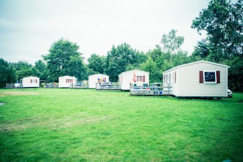 6-persoons stacaravan/chalet Mobile Home