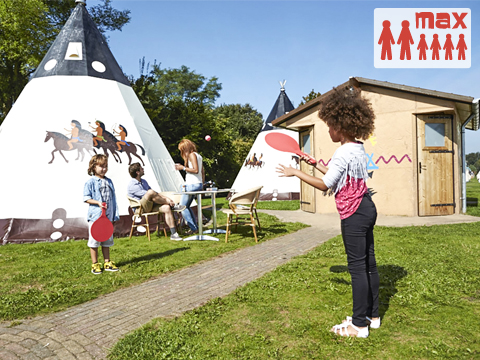 6-persoons tent (max. 2 adults) Wigwam Deluxe