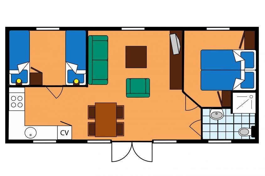 roompot kamperland lageplan
