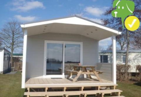 6-persoons stacaravan/chalet Lodge