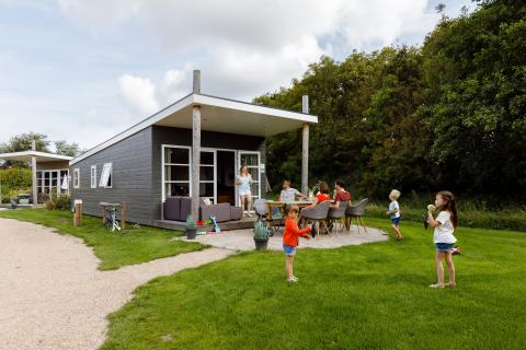 6-persoons stacaravan/chalet Duin Lodge