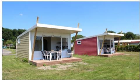 5-persoons stacaravan/chalet cabin Vlinder