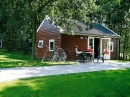 4-person mobile home/caravan Blokhut Esdoorn