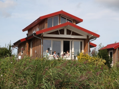 12-person cottage Goudplevier Comfort