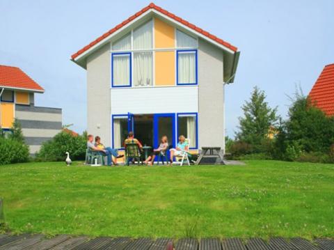 4-persoons bungalow Kajuit