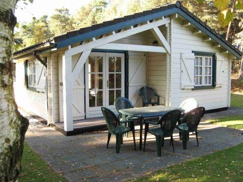 5-person mobile home/caravan Scandinavisch chalet