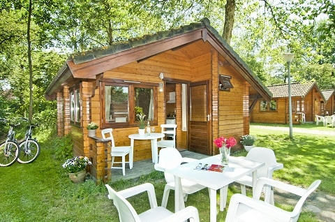4-person mobile home/caravan Camping Cottage