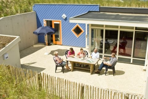 4-persoons bungalow Duinhuisje
