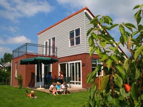 4-persoons bungalow Polder Luxe